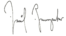 Unterschrift Baumgartner