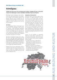 Artikel im Münsinger Info