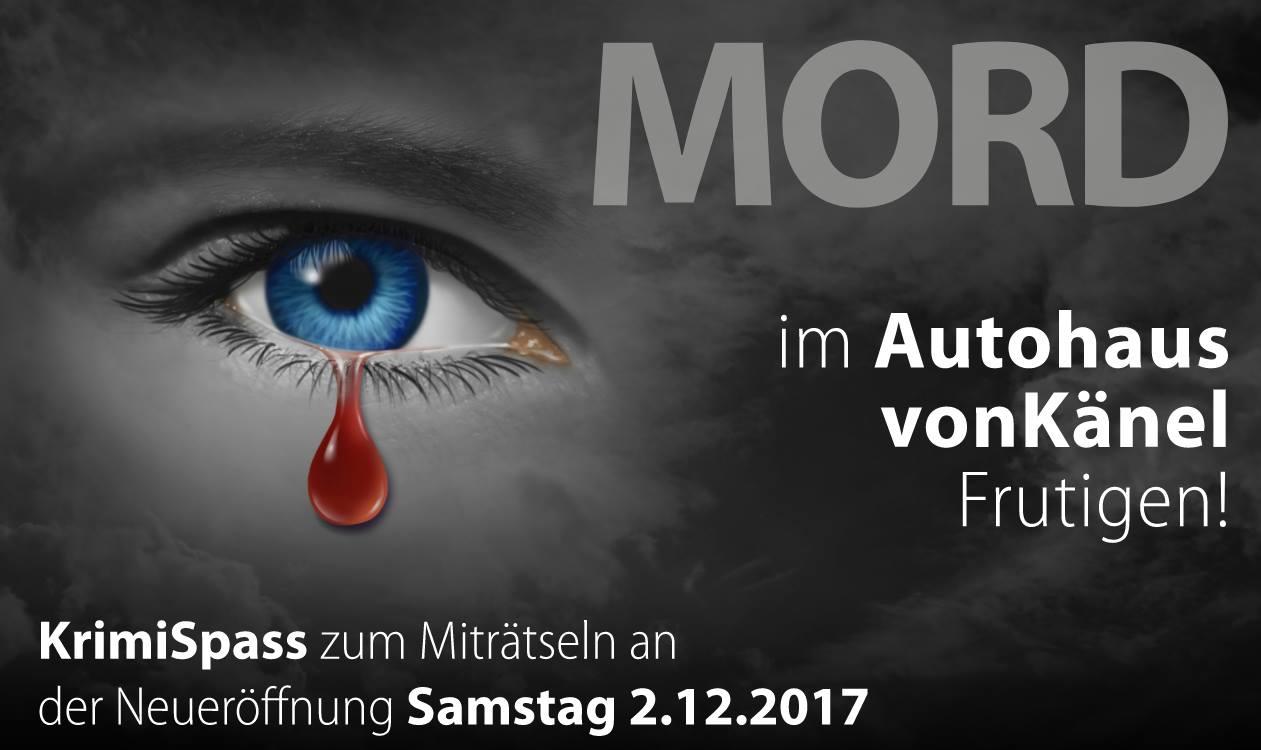 Banner - Mord im Autohaus