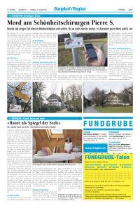 Artikel in D'Region